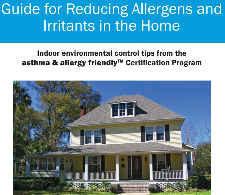 Guide for Reducing Allergens and Irritants in the Home