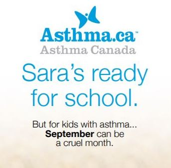 Sara's Ready – Preparing for the September Asthma Peak