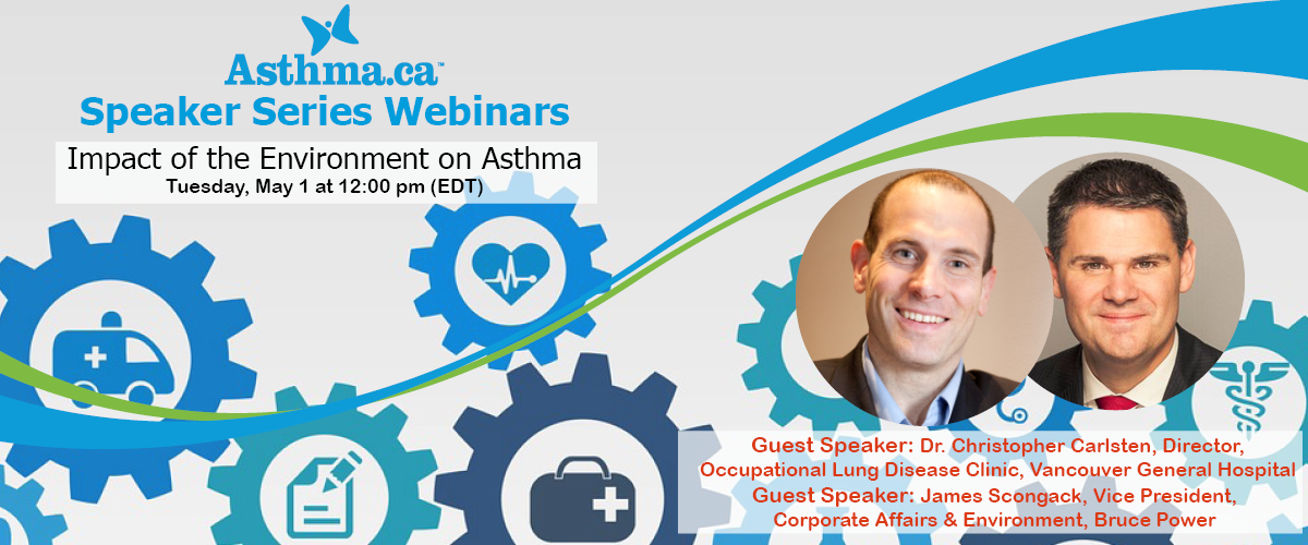 Speaker Series – Impact of the Environment on Asthma