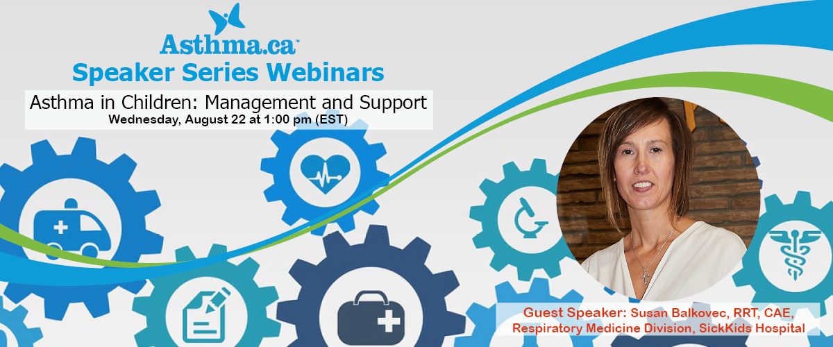 Speaker Series Asthma In Children Management And Support Asthma