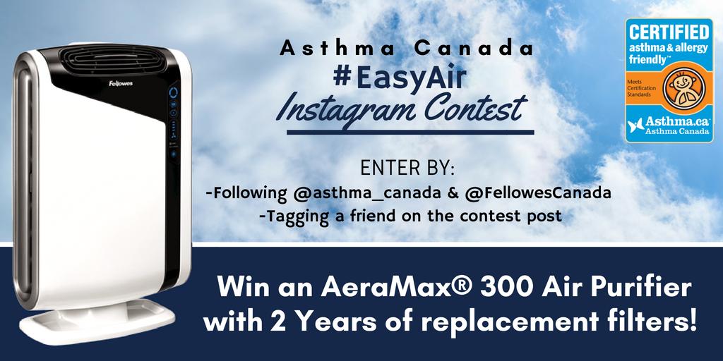 Asthma Canada #EasyAir Instagram Contest
