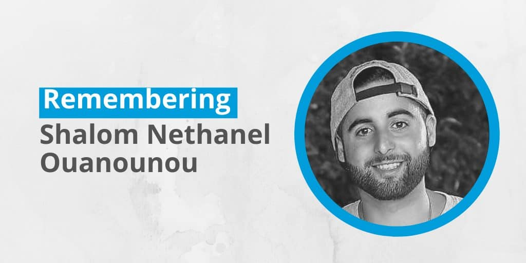 Remembering Shalom Nethanel Ouanounou